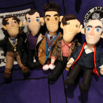 Doctor Who Doctor plushies
