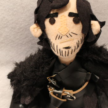 Game of Thrones Jon Snow and Arya Stark Plushies