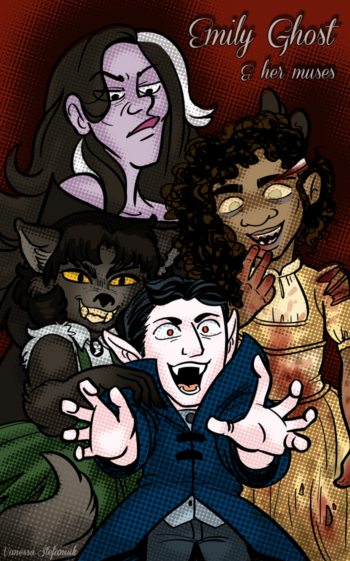 Emily Ghost and her muses