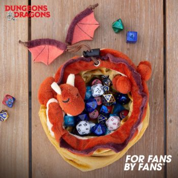 DnD Dragon's Hoard Dice Bag